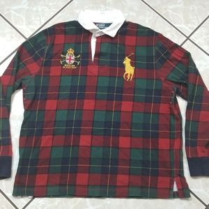 Polo Ralph Lauren Rugby Quilted Long Sleeve Men XL